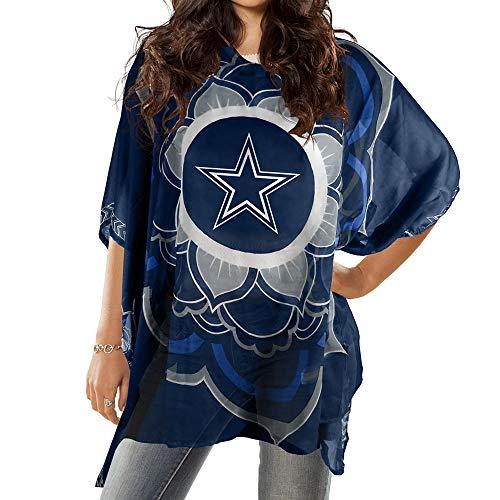 NFL Dallas Cowboys Flower Caftan