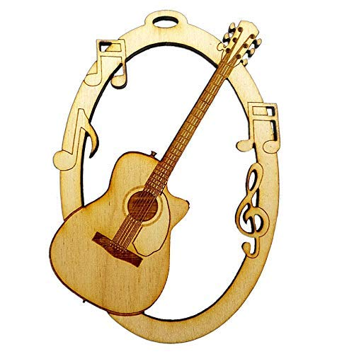 Personalized Guitar Free Shipping Max 88% OFF Cheap Bargain Gift Ornament - Guita Ornaments Acoustic