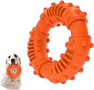 Dog Chew Toys for Aggressive Chewers Large Breed, Non-Toxic Natural Rubber Long Lasting Indestructible Dog Toys, Tough Dur...