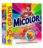 Micolor Detergente en Polvo Colores Vivos - 25 Lavados (1,8 Kg)