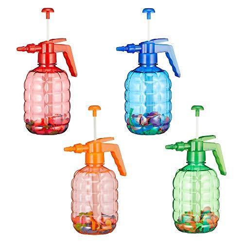 Cepewa 1 x XXL Wasserbomben Pumpe mit 100 Wasserbomben Luftballons Ballons (1 x Waserbombem)