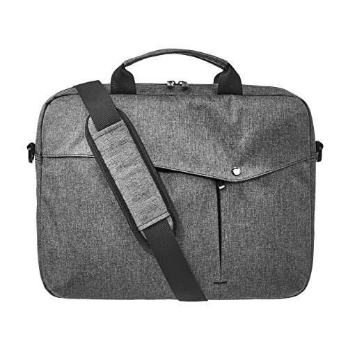 Amazon Basics - Maletín para portátil, 38 cm, gris
