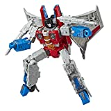 Transformers Toys Generations War for Cybertron Voyager Wfc-S24 Starscream Action Figure - Siege Chapter - Adults & Kids Ages 8 & Up, 7'