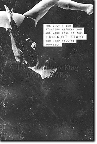 Gymnastics / Gymnastik Motivierungs Foto Poster 07