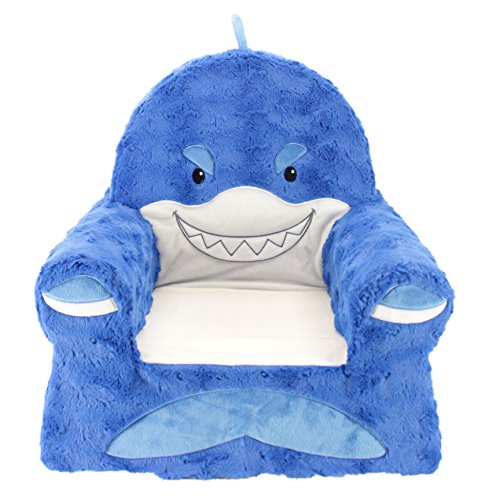 Animal Adventure | Sweet Seats | Shark Children's Plush Chair