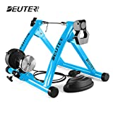 Deuter Bike Trainer, Magnetic Bicycle Stationary Stand for Indoor Exercise Riding, Portable, Quick Release Skewer &...