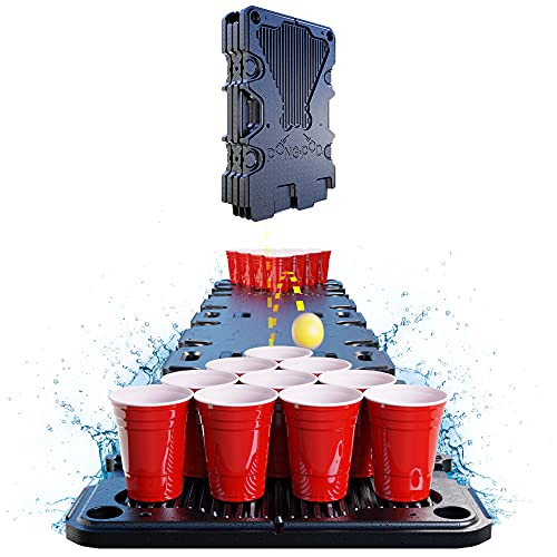 PONG POD PRO 8ft Floating Game Table for Cup Pong, Flip Cup, and Card Games