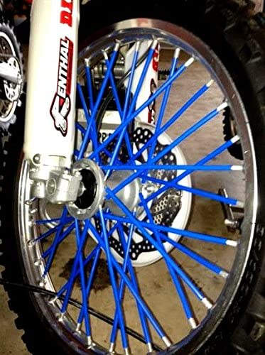 Luxury Bykas Made in Ranking TOP3 USA Blue-Spoke Skins Coats-Dirt B Wraps Covers