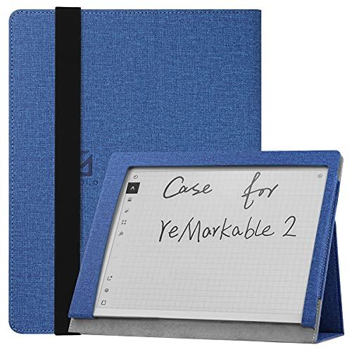 """Custodia per reMarkable 2 Paper Tablet da 10,3 """" Uscita 2020, Custodia Folio Smart Cover in Pelle PU Sottile e Leggera con Supporto per reMarkable 2 Digital Paper 2020 - Marina Militare"""