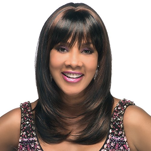 Price comparison product image Vivica A. Fox CHARLI-V New Futura Fiber,  PS Cap Wig in Color 4