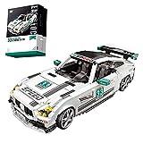 TRCS Juego de construcción de bloques de construcción para coches deportivos Speed Champions 1/18 1672, bloques de sujeción para coche, compatible con vehículos todoterreno Lego Mercedes Benz G65 AMG