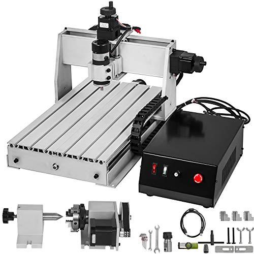 BananaB 3040 4 Axis CNC Machine Kit 300x400mm Pro Milling Machine CNC Engraving Machine 300W MACH3 CNC Router Machine USB cnc graviermaschine 4 achse