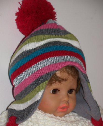 Superweiche Strick Baby Mütze