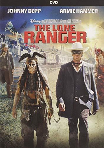 The Lone Ranger -  DVD, Rated PG-13, Gore Verbinski