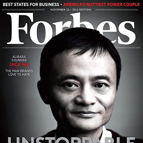 Forbes, November 23, 2015 cover art