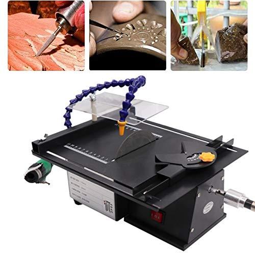 Water Cooling Jewelry Rock Polishing Saw Kit, Professional High-Precision Gem Polishing Machine, 10000RPM Mini Table Saw Kit for Gem Rock Cutting & Polishing
