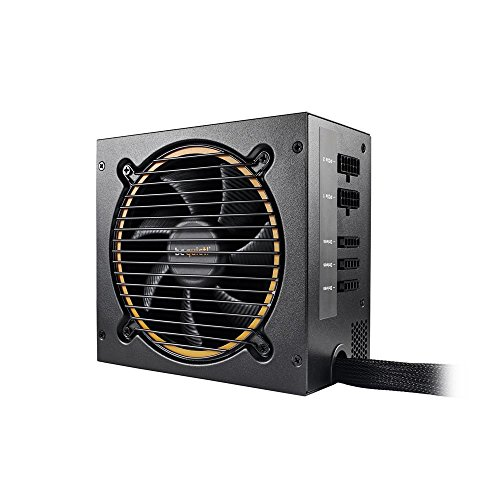 be quiet! Pure Power 11 cm ATX PC Netzteil 600W Schwarz 80Plus Gold mit Kabelmanagement BN298