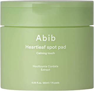 [Abib] Heartleaf Spot Pad Calming Touch 120ml (75pads)