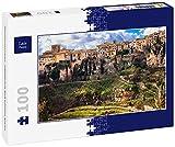 Lais Puzzle Panorama de Cuenca - Ciudad Medieval en Las Rocas, España 100 Piezas