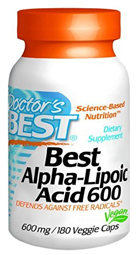 Doctor's Best Alpha Lipoic Acid 600mg - 180 ct (Pack of 2)