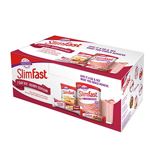 SlimFast 7 Day Kit Berry Edition Starter Pack