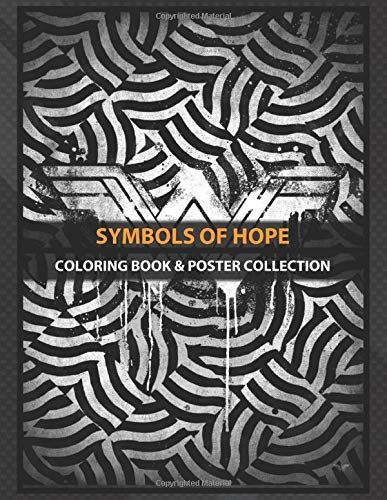 Coloring Book & Poster Collection: Symbols Of Hope Illusion Comics