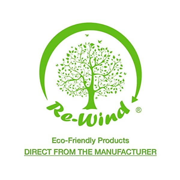 NEW Re-Wind Eco Friendly Compact Pocket Torch - Features: Wind-up Action, Rechargeable and Solar Powered, Powerful 3 LED… 1
