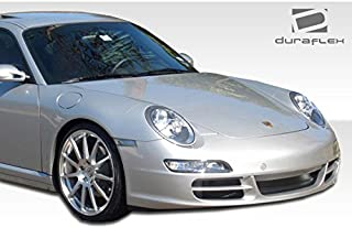 1999-2004 Porsche 996 997 Duraflex Carrera Front End Conversion - Includes 997 Carrera Conversion Front Bumper (105126) and 997 Conversion OEM Fenders (105128). - Duraflex Body Kits