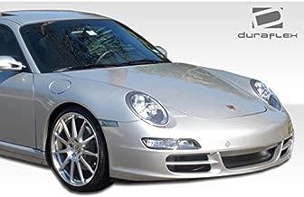 1999-2004 Porsche 996 C2/C4 997 Duraflex Carrera Conversion - Includes 997 Carrera Conversion Front Bumper (105126), 997 GT-3 RS Conversion Rear Bumper (105129), and 997 Conversion OEM Fenders (105128). - Duraflex Body Kits