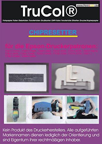 Chip Resetter für Epson Expression Home XP Serie für folgende Patronennummern : T1811-T1814 T1801-T1804 T2001-2004 T2731-2734 T2771-2776 T2611-T2614 T2631-2634 T2421-T2426 T2431-T2436 T1761-1764 T1771-1774 T1971 T1961-T1964 T2711-T2714