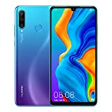 Huawei P30 Lite New Edition 256GB Handy, blau/violett, Peacock Blue, Android 9.0