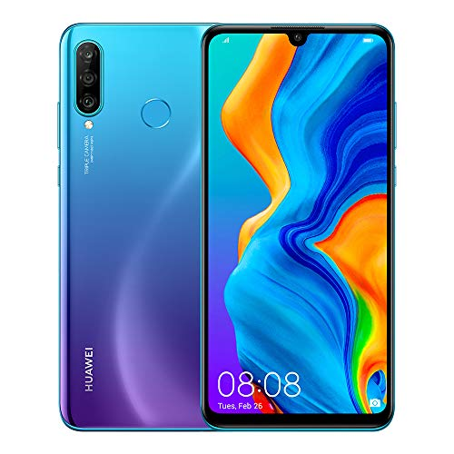 "Huawei P30 Lite New Edition Peacock Blue 6.15"" 6gb/256gb Dual Sim"