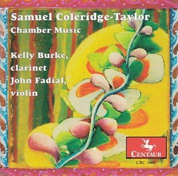 Coleridge-Taylor, S.: Clarinet Quintet in F Sharp Minor / 4 African Dances / Nonet in F Minor
