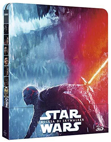 Star Wars L'Ascesa Di Skywalker 3D Steelbook (Limited Edition) (3 Blu Ray)