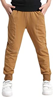 Glaiidy Pantalones De Chándal para Niños Pantalones Casuales con Puños Y Pantalones Moda Completi Elásticos para Niños 201...