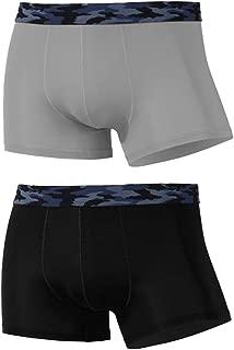 Aiweijia Mens Thin Breathable Boxer Briefs Ice Silk Transparent Breathable Underwear