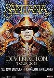 Santana - Divination, Dresden 2018 » Konzertplakat/Premium