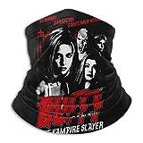 N/A Buffy Contre Les Vampires Hommes Et Femmes en Microfibre Cache-Cou Guêtre Extensible Couverture du Visage Demi-Masque Tube Écharpe Polyvalence Bandana Bandeau Chapeaux Cagoule