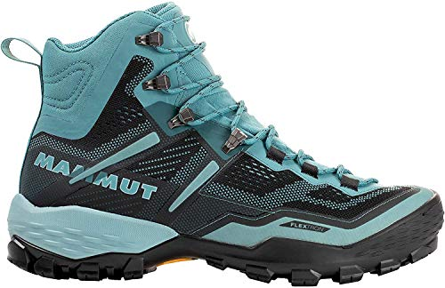 Mammut Bota DUCAN High GTX Botas Montañismo, Alpinismo y Trekking Mujer, Multicolor (Dark Waters/Phantom), 38