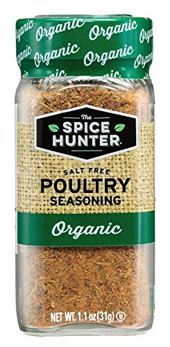 The Spice Hunter Poultry Seasoning, Organic, 1.1-Ounce Jar (2 Pack)