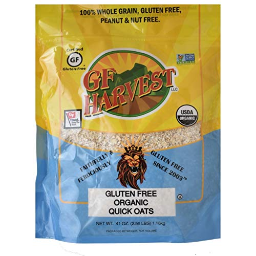 GF Harvest Gluten Free Organic Quick Oats, 20 Oz., 2 Count