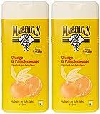 Le Petit Marseillais–Ducha y baño muy suave–naranja pomelo flacon–650ml–juego de 2