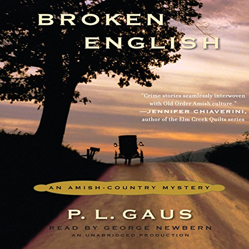 Broken English audiobook cover art