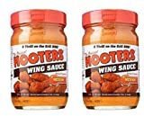 Hooters Wing Sauce, Medium, 12 oz (2 Pack)...