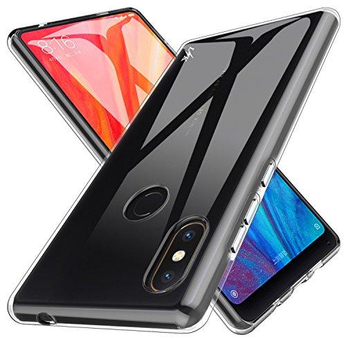 Custodia Xiaomi Mi Mix 2s, LK Case in Morbido Silicone di Gel Antigraffio in TPU Ultra [Slim Thin] Cover Protettiva...