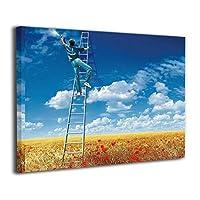 アートフレーム アートパネル 落書きのアイデア 現代壁の絵 壁掛け式の装飾画 壁アート 木製 インテリアアート 額縁なし ポスター 部屋飾り ウォールアート モダン 30x40cm