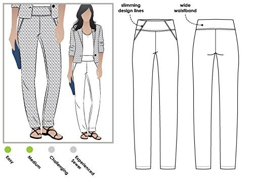 Style Arc Sewing Pattern - Beth Pant (Sizes 18-30) - Click for Other Sizes Available