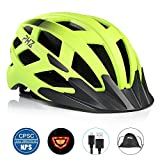 Best Adult Bike Helmets - PHZ. Adult Bike CPSC Certified Helmet with Rechargeable Review