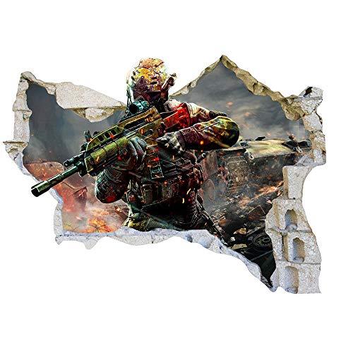 Adesivo murale War Force Game Boy Camera da letto Girl Boy Soggiorno