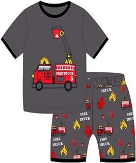 de6c063a00080 Showu Ensembles Shorts et Haut Garçon T-Shirt Et Pantalons pour Enfants  Garçon 1-